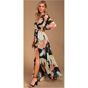 Floral maxi dress from Lulus